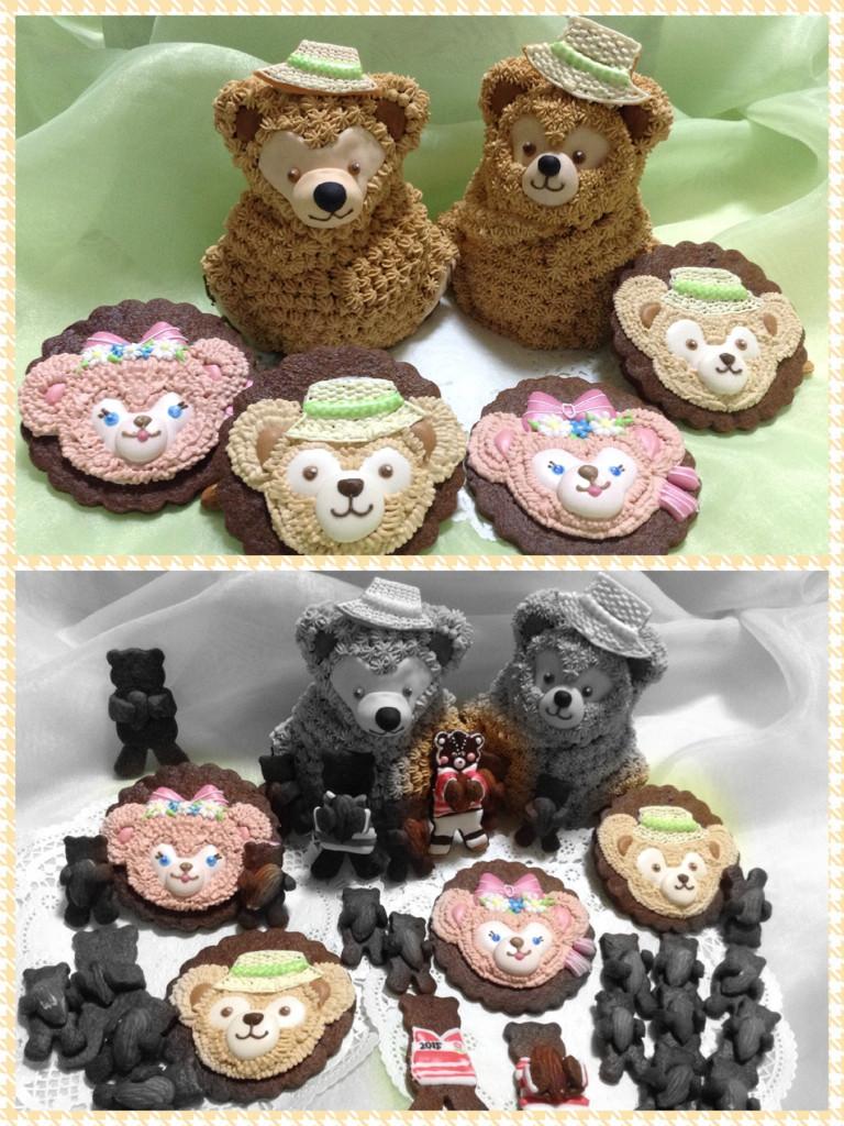 クマ三昧レッスン クマフルーツケーキとクッキー