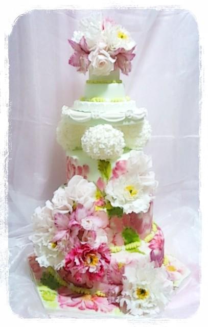 2015年 ジャパンケーキショー作品