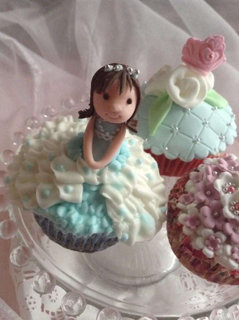 お姫様カップケーキ