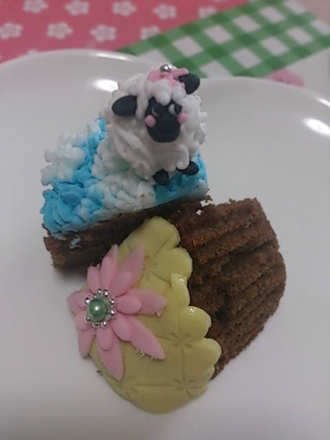 カップケーキだから美味しくいただけます。