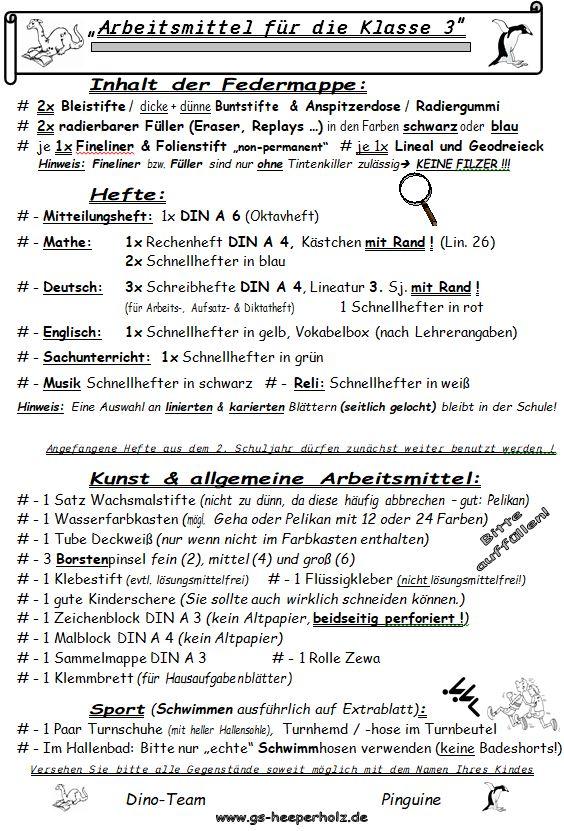 Lineaturen fr die Grundschule Schule t School Deutsch