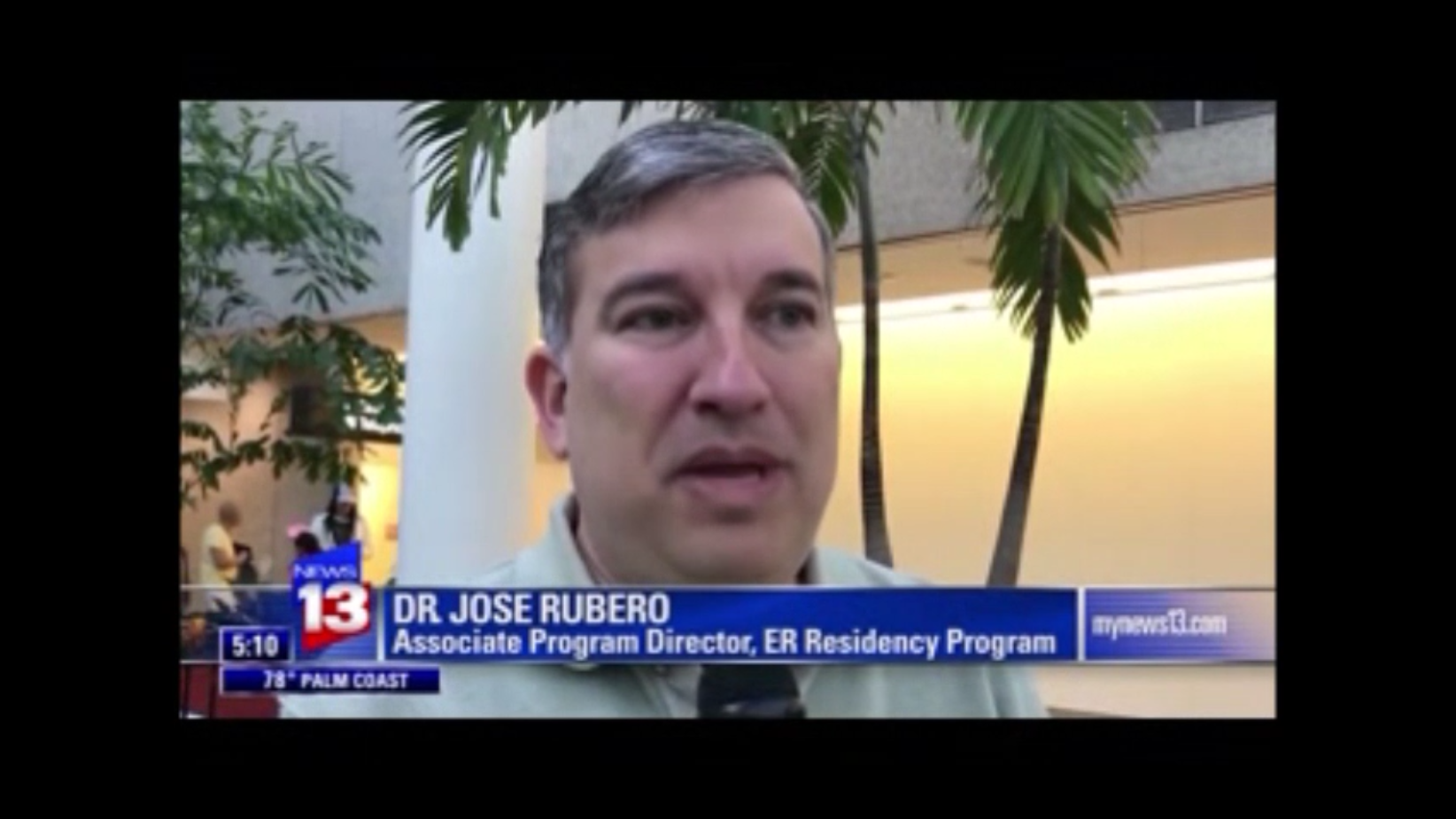 Dr. Rubero News Interview