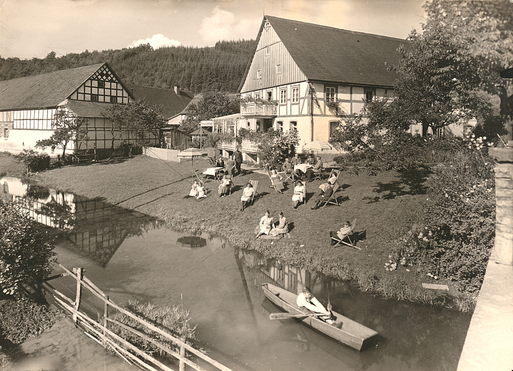 Sommerfrische in Vollendung: Privatpension Sternberg 1932