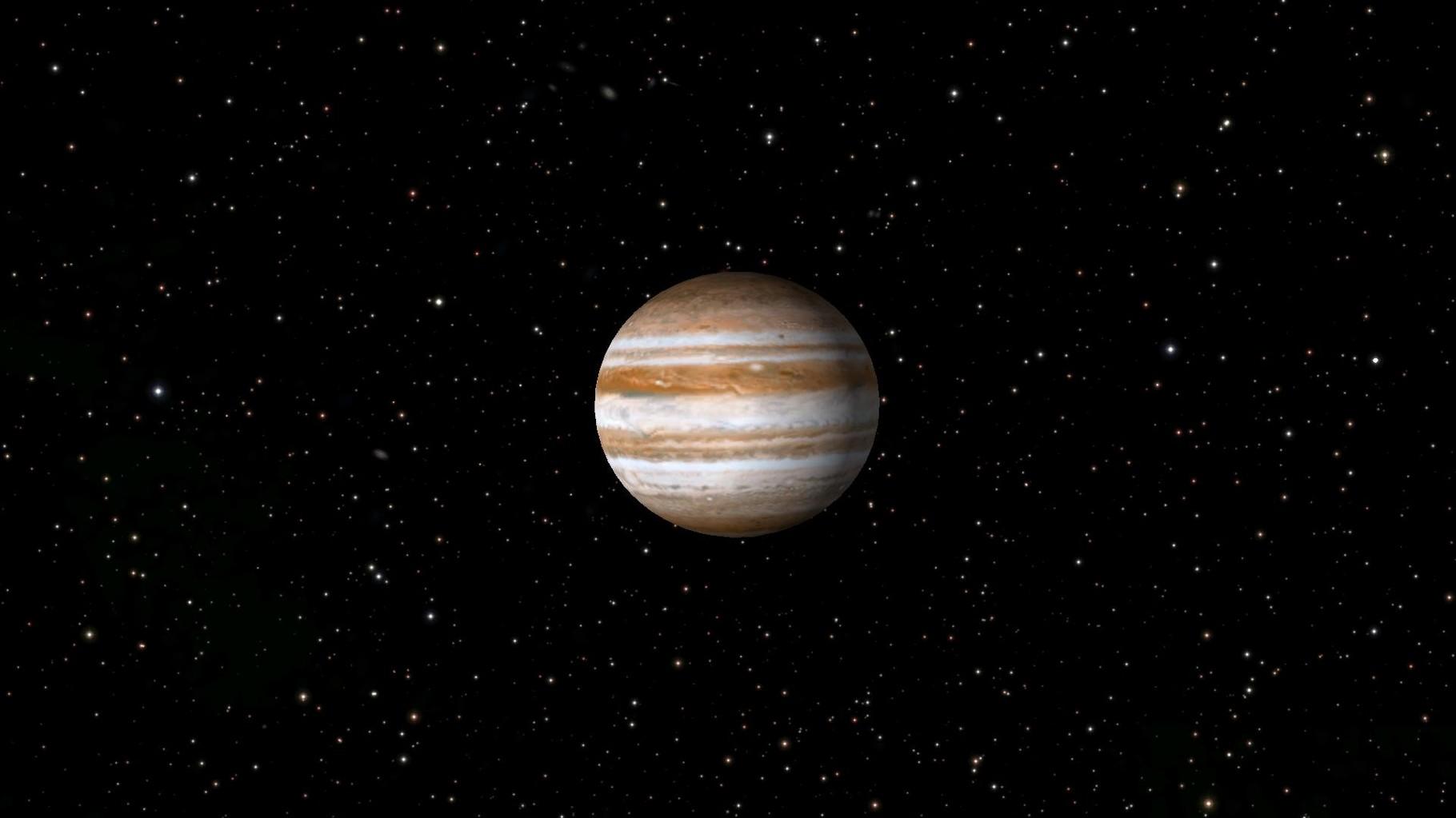 Und der Jupiter erst.