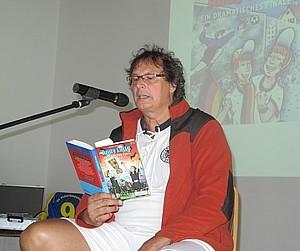 """Ferienpassaktion """"Andy Latte Pokaljagd"""" mit Hanno Herzler am 16. August 2013"""