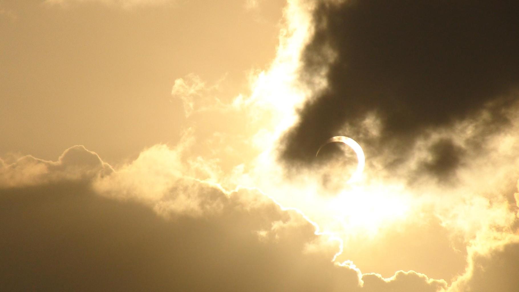 Sonnenfinsternis 15.01.2010 über Uganda