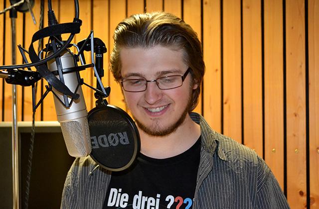 Micha Nitsch verleiht Alexander die Stimme