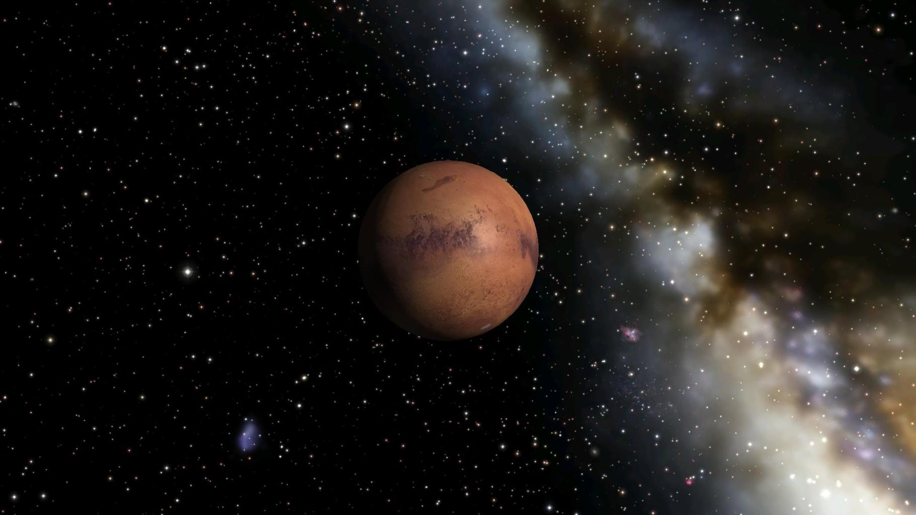 Ach der Mars.