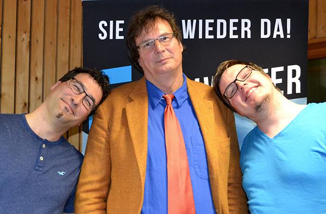 Tobias Schier, Hanno Herzler und Tobias Schuffenhauer
