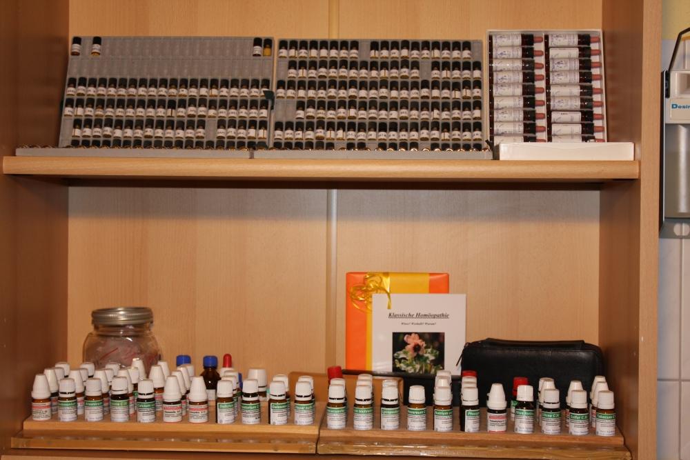 Homöopathische Arzneimittel, Apotheke