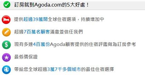 Agoda台灣自由行