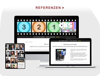 Referenzen responsive Websites für Unternehmen des Mittelstandes
