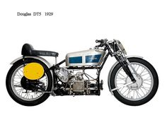 Douglas Motorcycle DT5