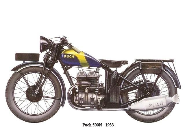 Puch 500 n 1933
