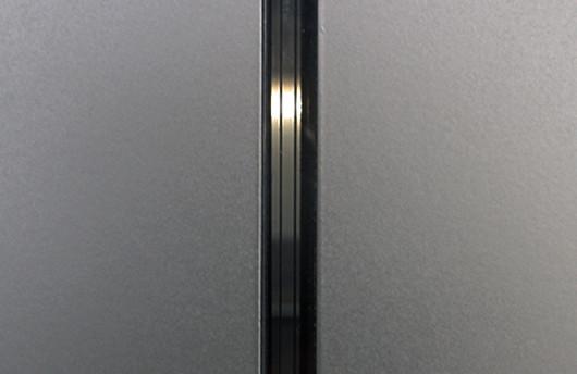 fotografie, detailaufnahme der leuchtschlitze des diplomprojektes liil, mario hecht