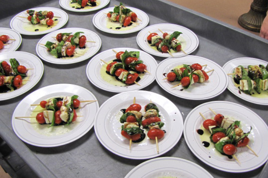 A twist to the Caprese Salad