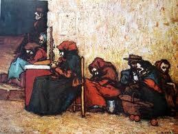 """""""Pobres esperando la sopa"""", de Isidro Nonel (1872-1911)"""