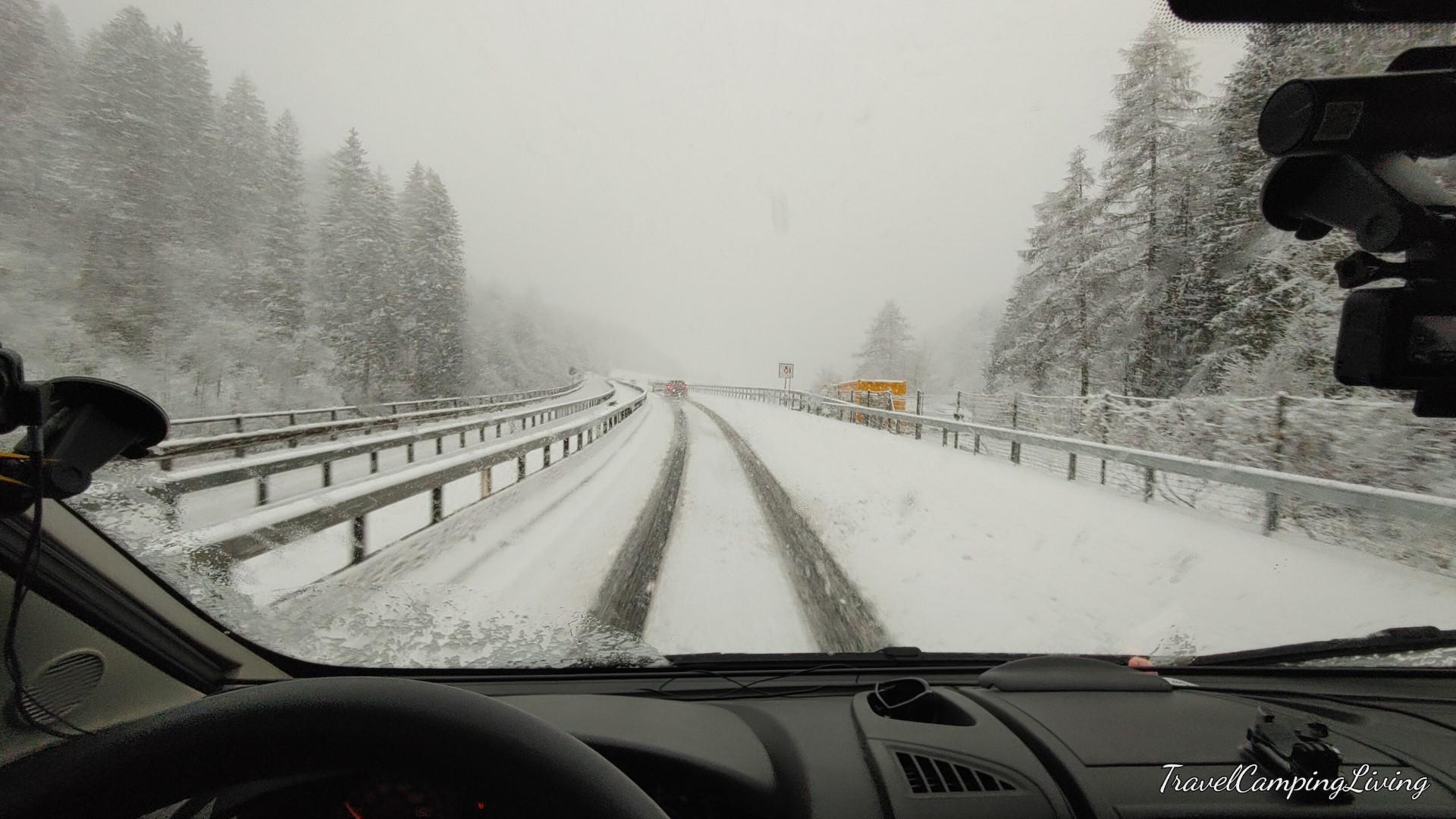 #205 Die Schnee Tour -  Sturm am Urnerboden und Schneemassen in San Bernardino