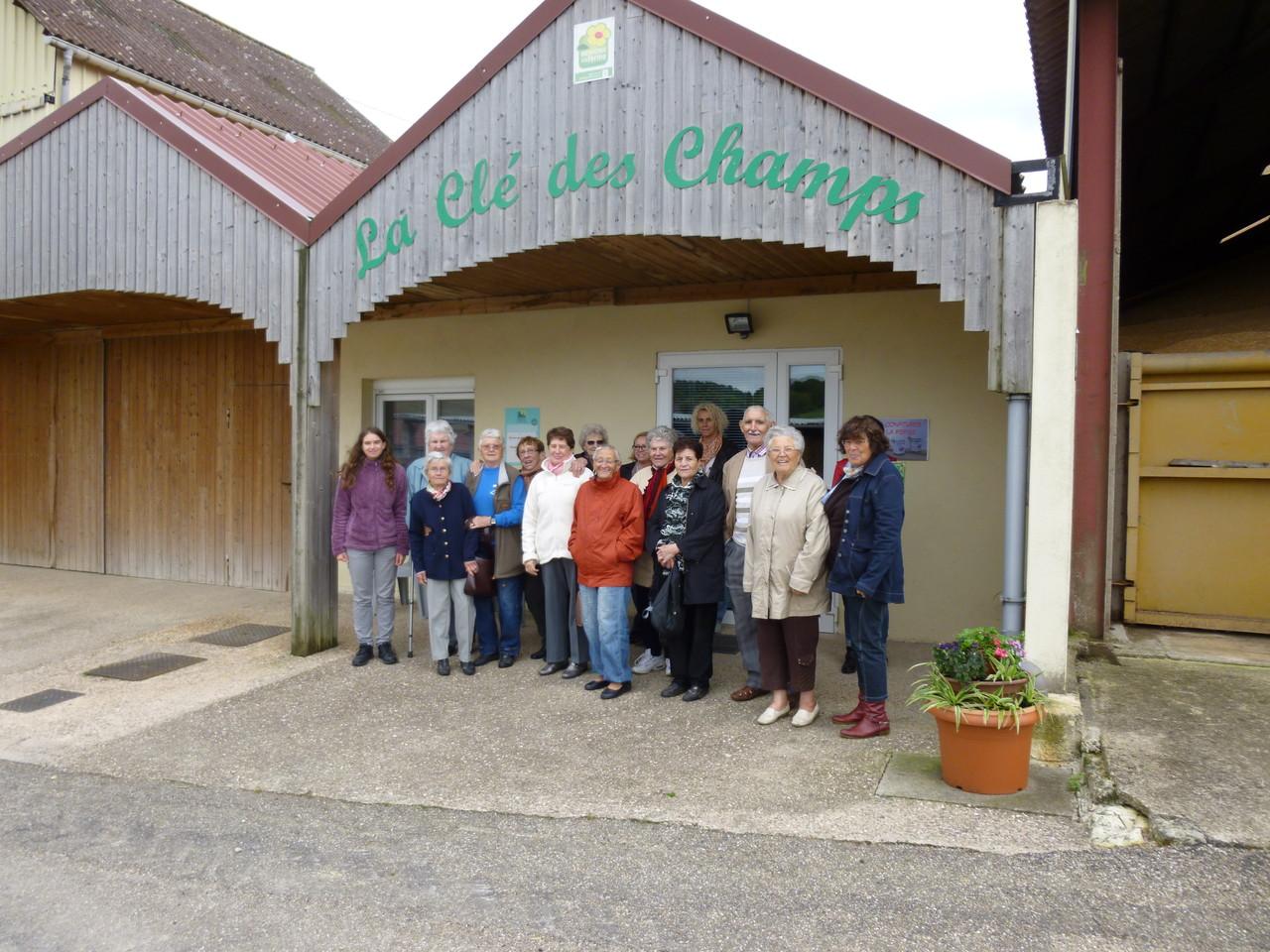 Visite du groupe relais accueil de Ligny en Barrois