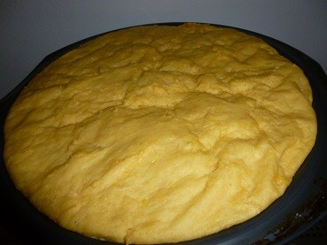 Une fois la pâte levée