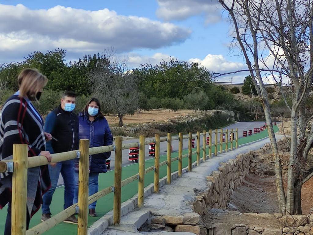 Finalización carril bici camino Càlig-Peñiscola.