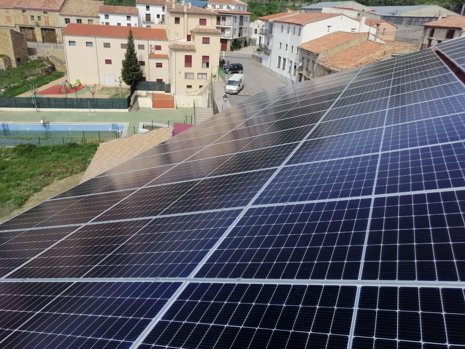 Ampliación instalación de autoconsumo en Portell de Morella