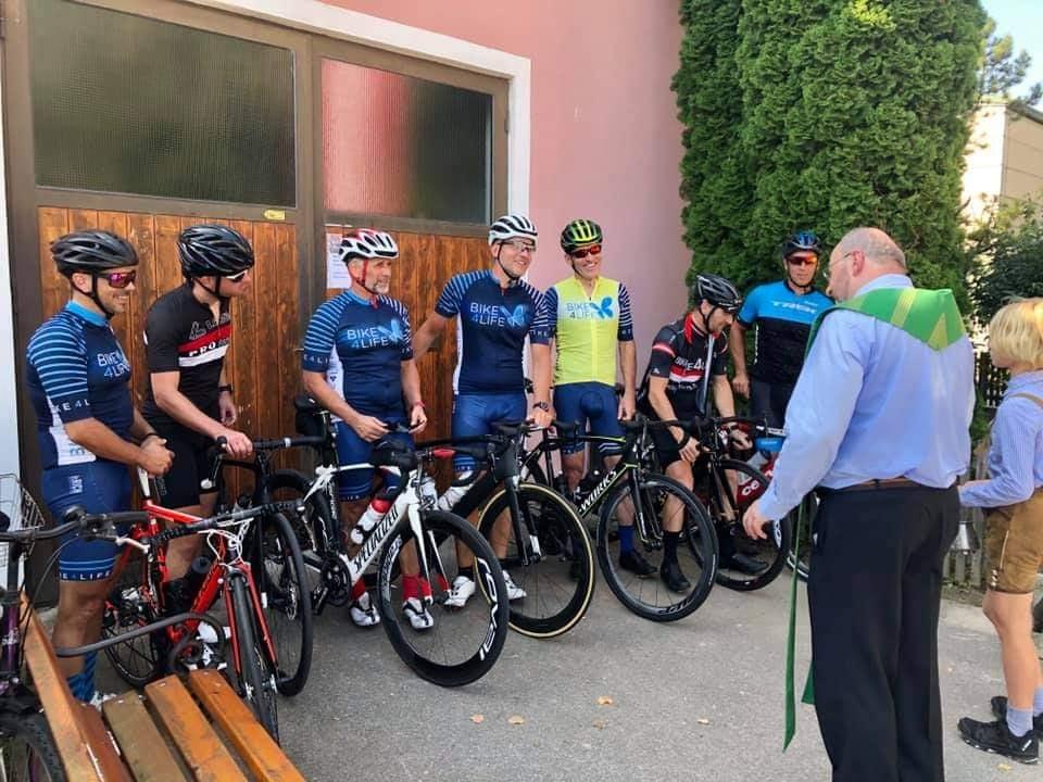 Fahrradsegnung Mautern