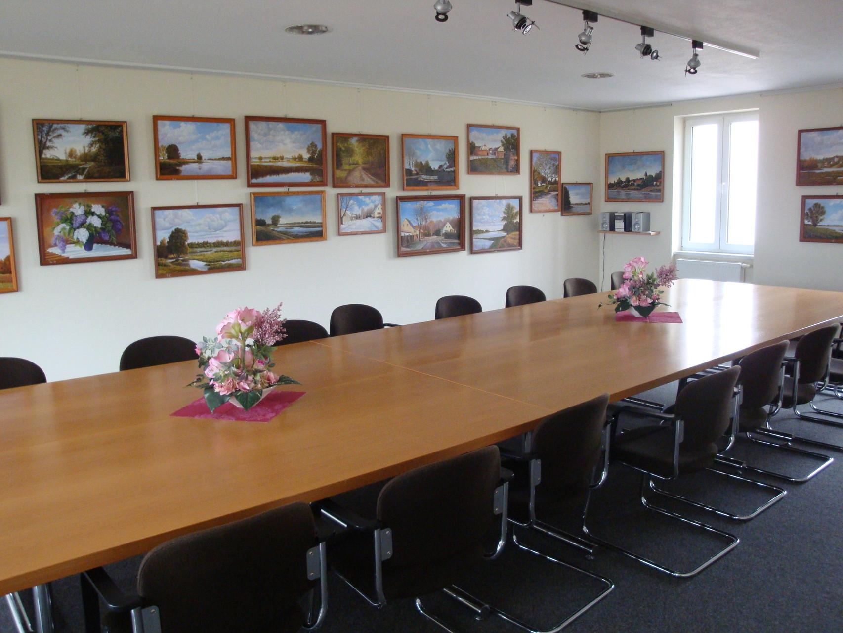 kleiner Konferenzraum im Obergeschoss