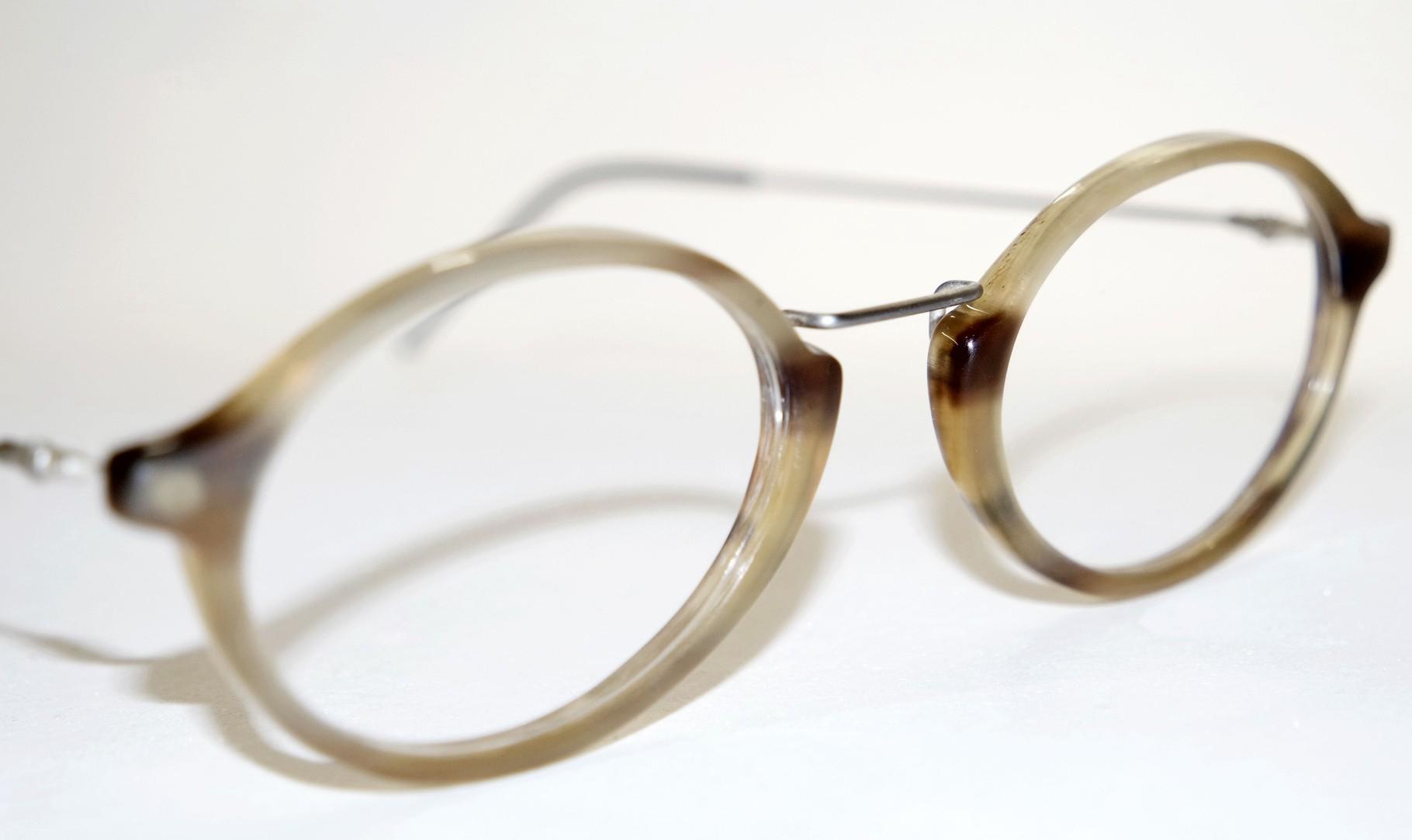Brille aus Büffelhorn