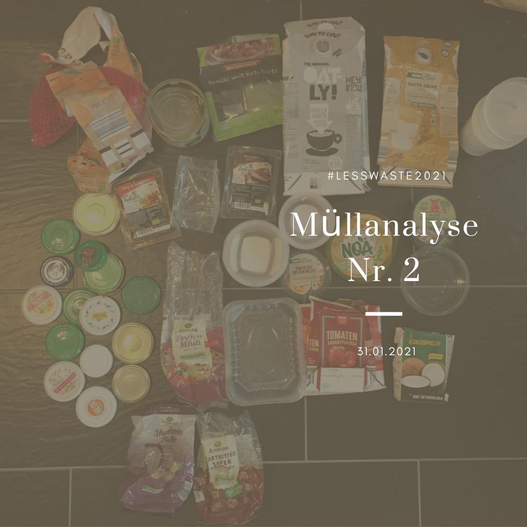 Meine Gedanken zur Müllanalyse Nr. 2