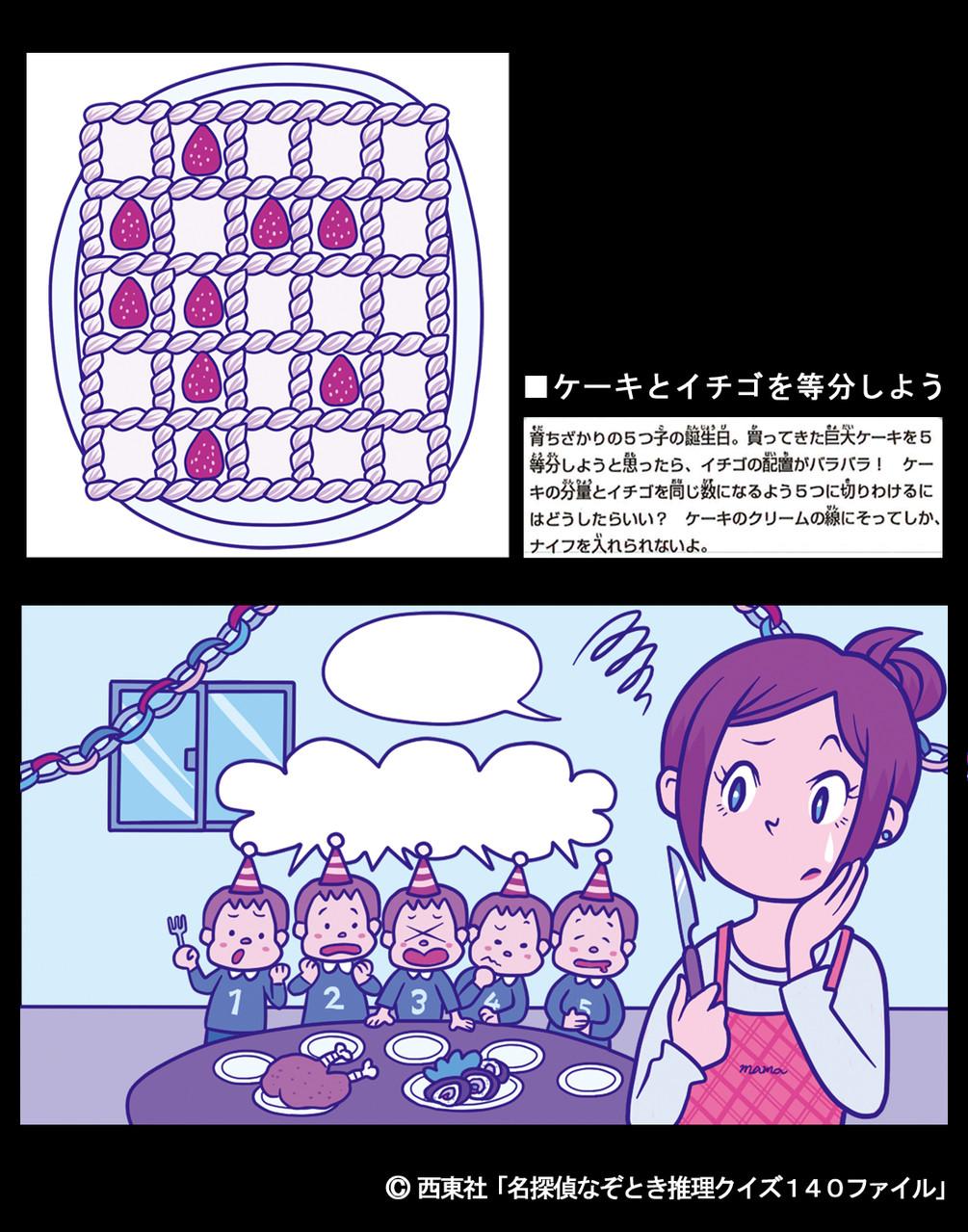 ケーキで大ゲンカ!?