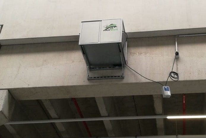 Effektive Staubbeseitigung in Lagerhallen