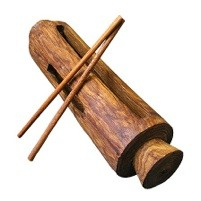 Krin (Guinea Log drum)