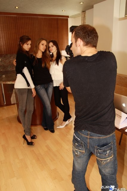 Model Casting, Mikem at Work