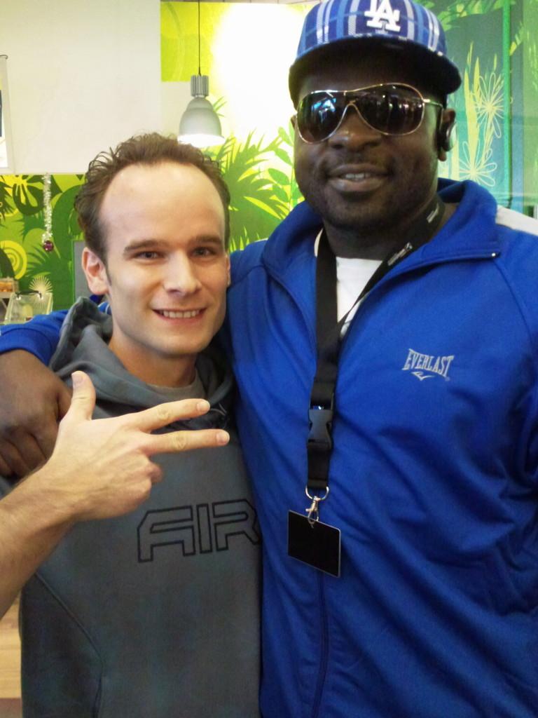 Kevin Johnson ist ein US-amerikanischer Boxer im Schwergewicht