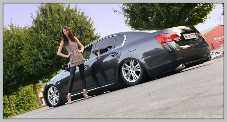 Alexandra, Lexus GS450, Tuning, HPS, Airride