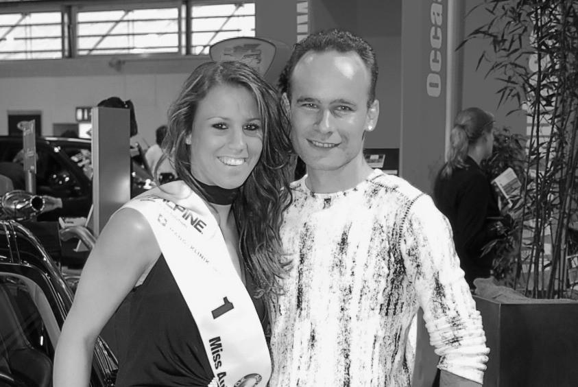 Giulia Würmli, Model und Miss Auto Zürich 2007 2008