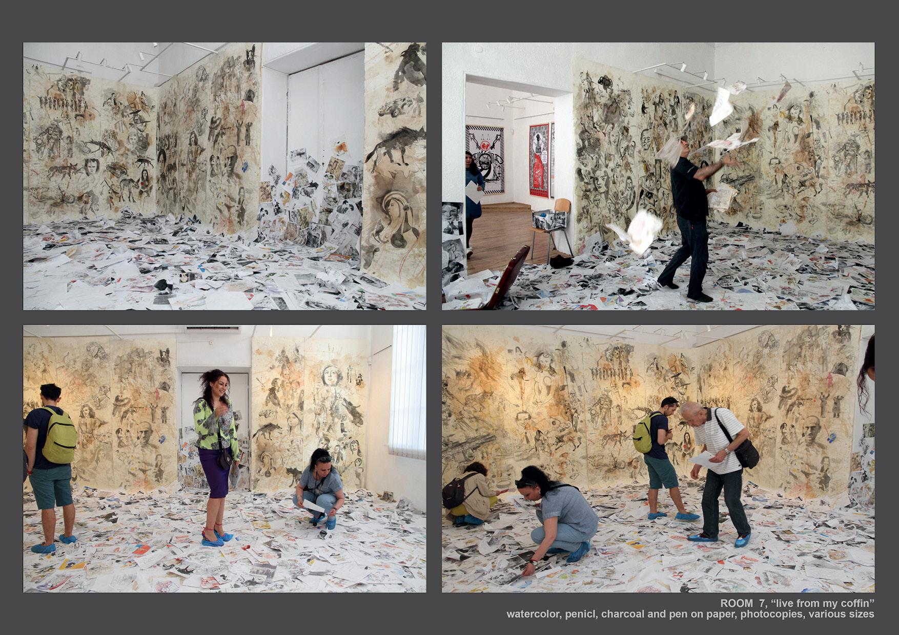 installation by guest artist Hüseyin Isik