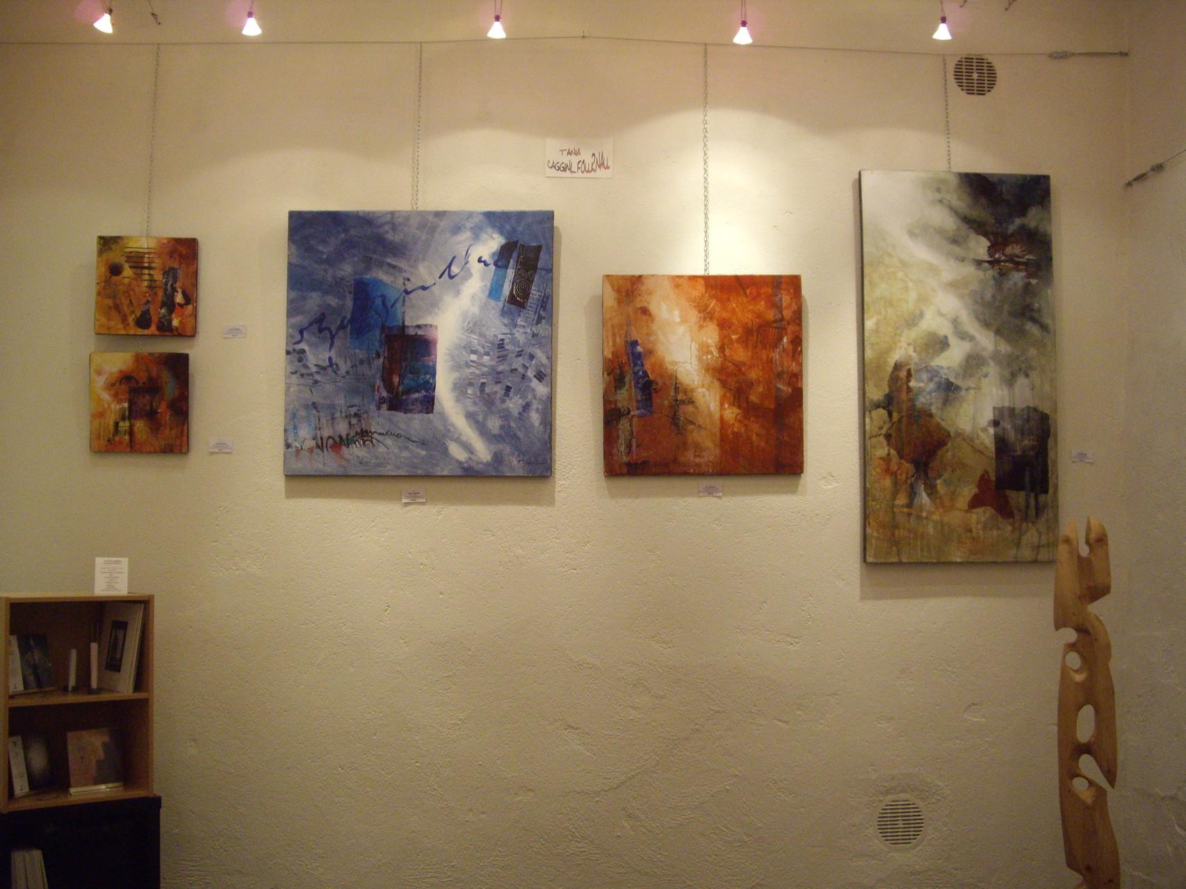 Tania Caggini - Parcours d'artiste