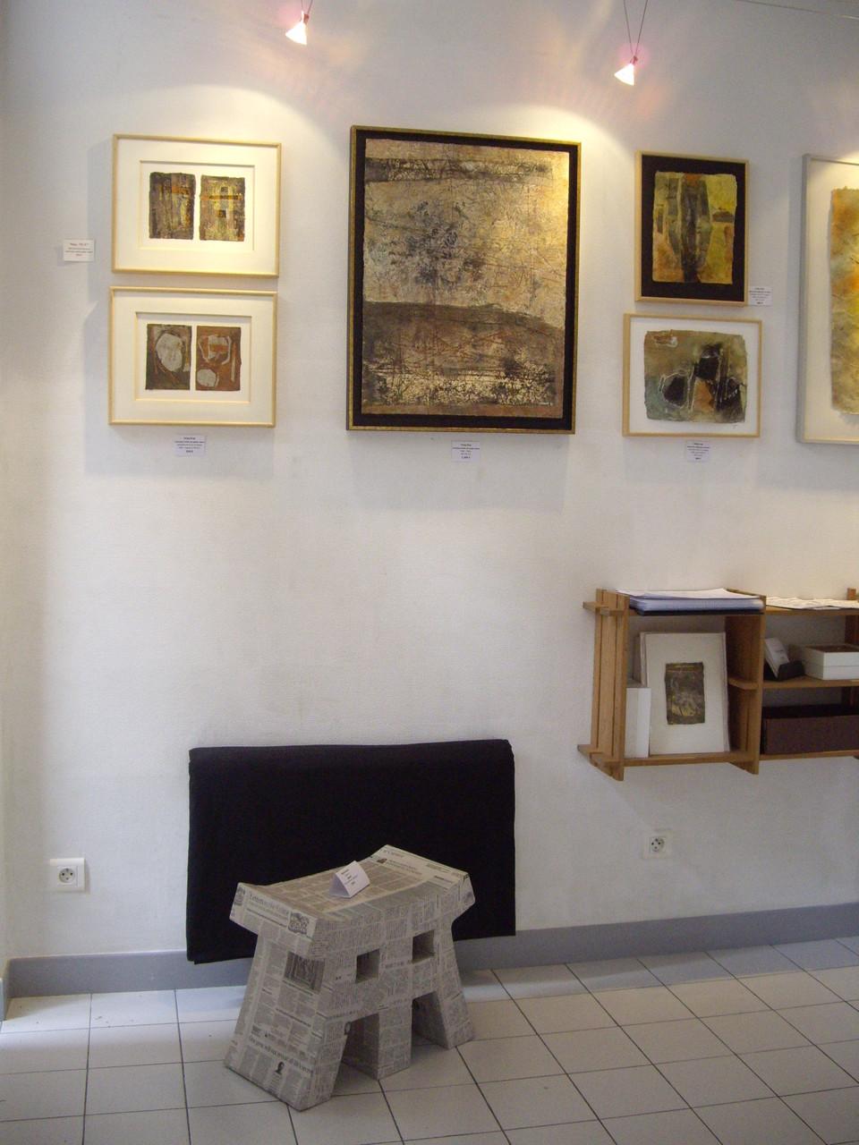 """Invité """"Bam Art"""" mobilier en carton"""