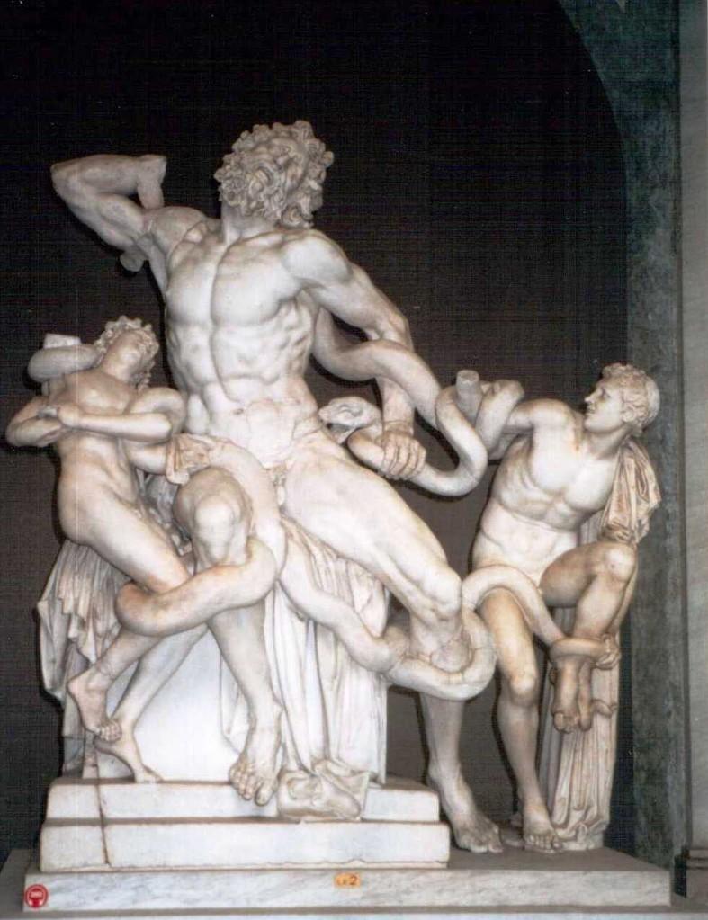 Laokoon - Gruppe, Vatikanische Museen