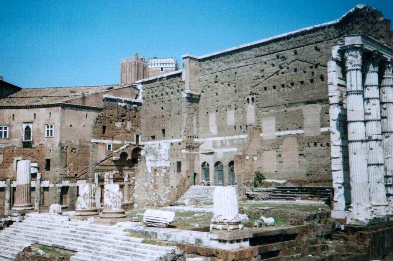 Mars Ultor - Tempel, Augustusforum