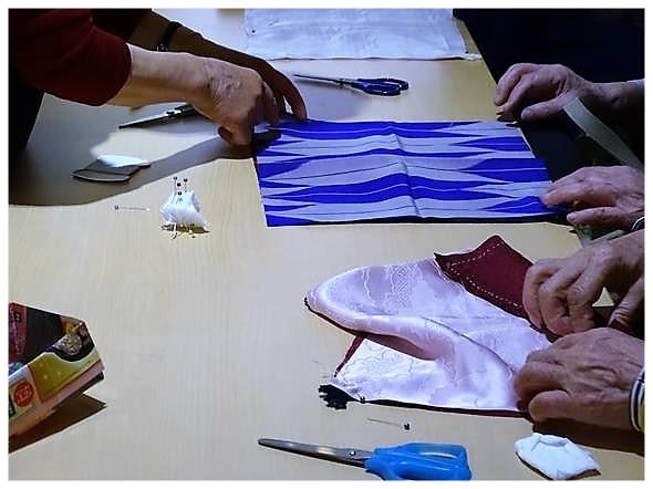 残り布で作るマイ箸包