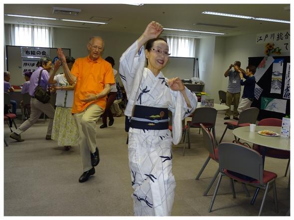 3Fステージ「日本舞踊」