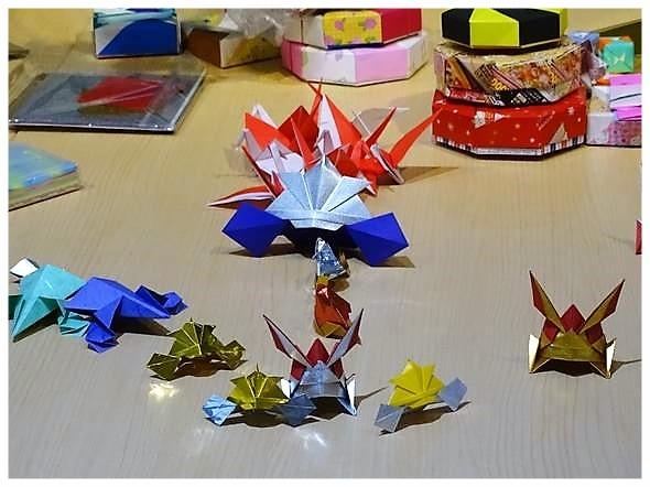 折り紙教室作品