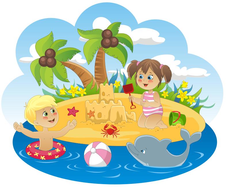 Остров радости картинки для детей