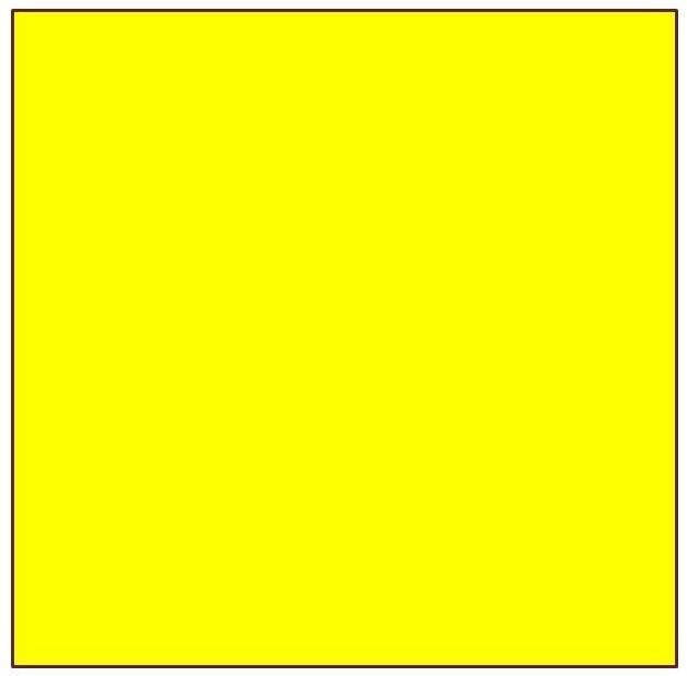 Au départ, le fond qui va constituer la première couleur du motif