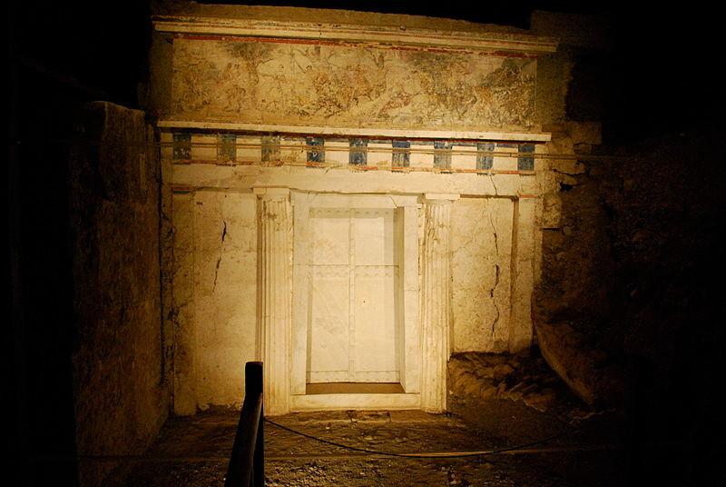 Le tombeau de Philippe II à Vergina