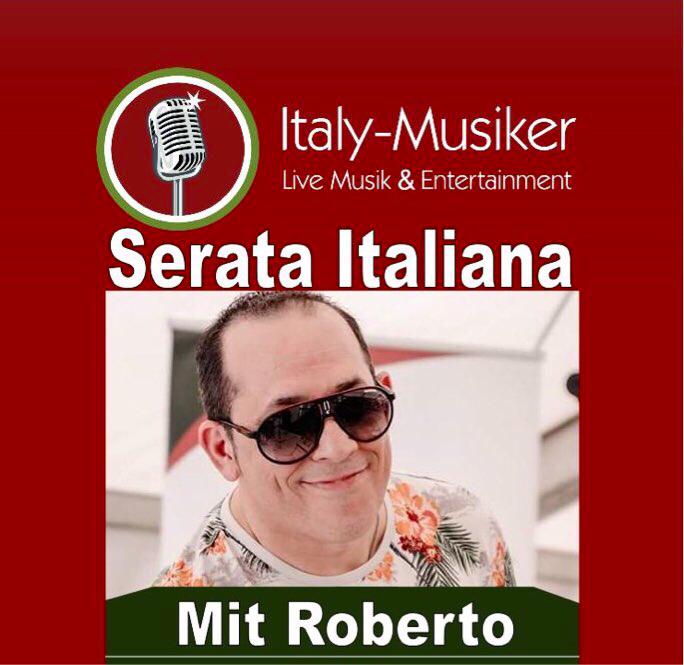 Italienische Musik mit Roberto.