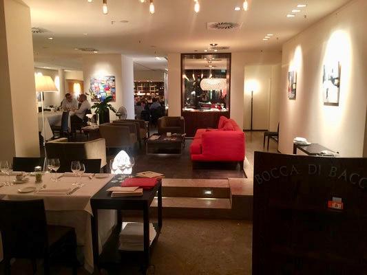 Christians Lieblingsplatz, die Lounge.